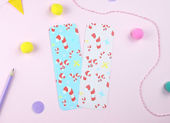 SECONDS Candy Canes bookmark