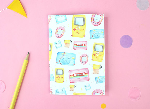 SECONDS 90's notebook