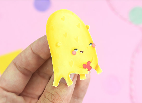 Handmade Happy Pin