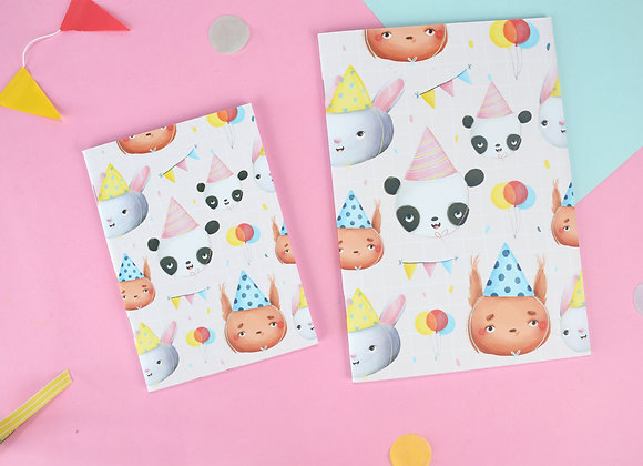 SECONDS Party Animals notebook