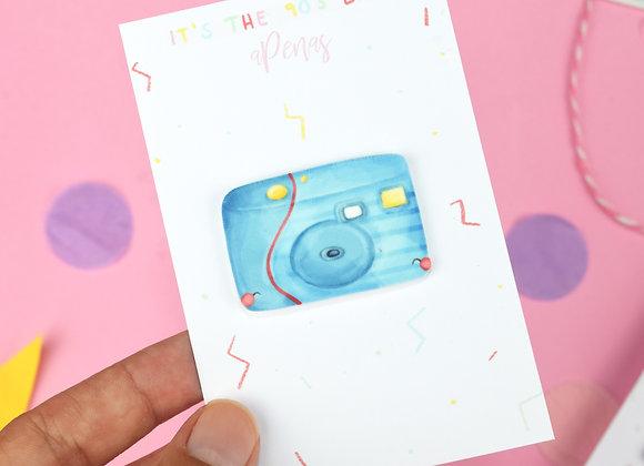 Handmade Camera Pin