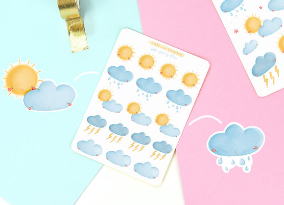 Weather Sticker Sheet 02