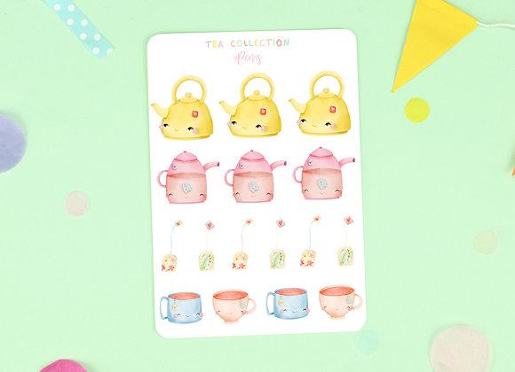 Tea Sticker Sheet 02