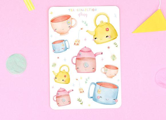 Tea Sticker Sheet 01