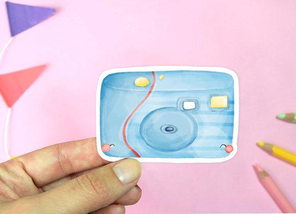 Camera Vinyl Sticker