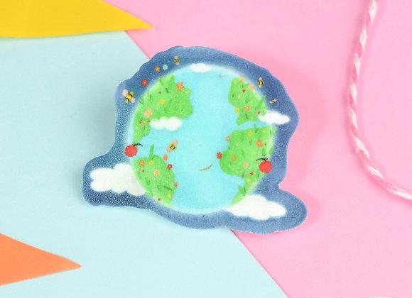 Handmade Planet Pin