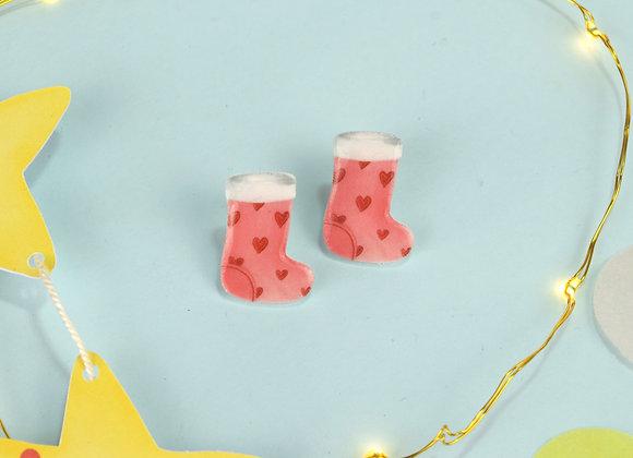 Stockings Earrings