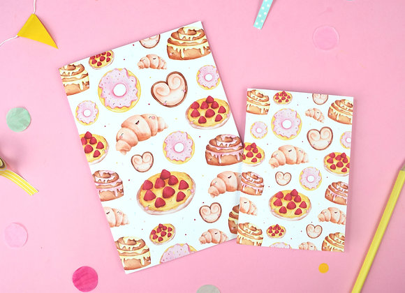 Pastries notebook