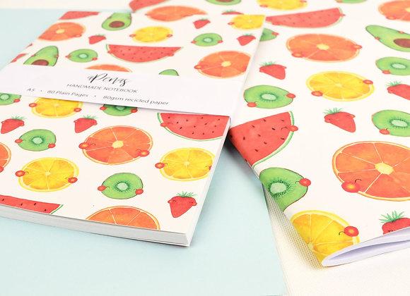 Large Fruits notebook