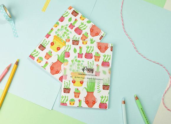 SECONDS Cactus Notebook