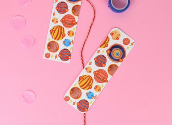 Planets bookmark