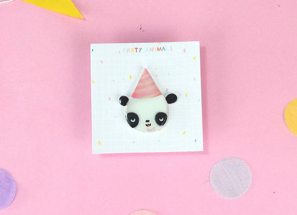 Party Panda Pin