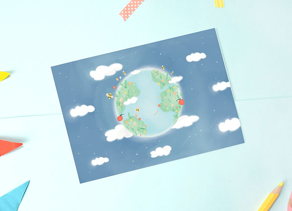 SECONDS Planet Postcards