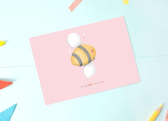 Bee Postcard - Bee Mine Postcard