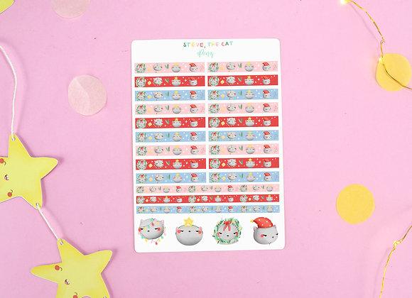 Steve the Cat Sticker Sheet 02