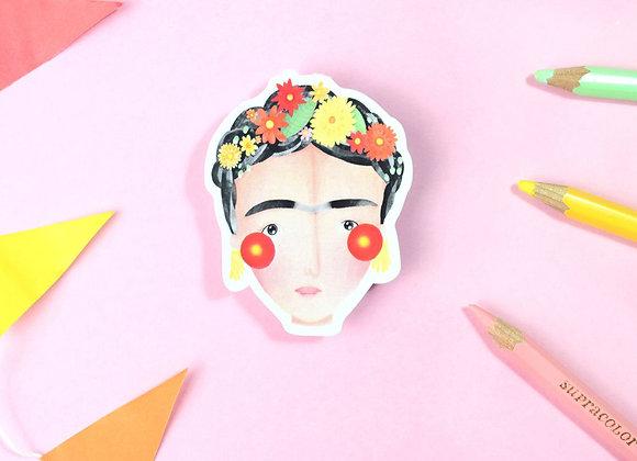 Frida Vinyl Sticker