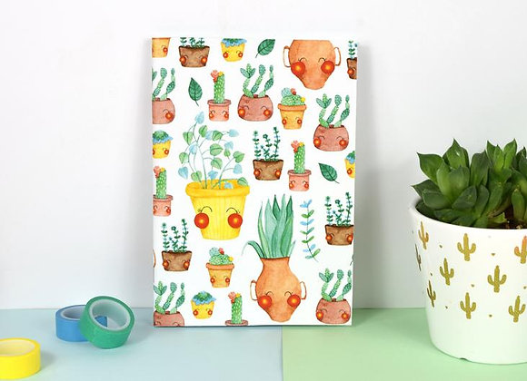 Cactus and Plants Notebook