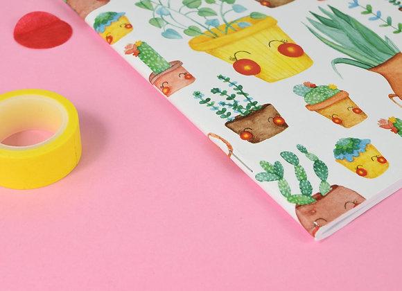 Large Cactus notebook