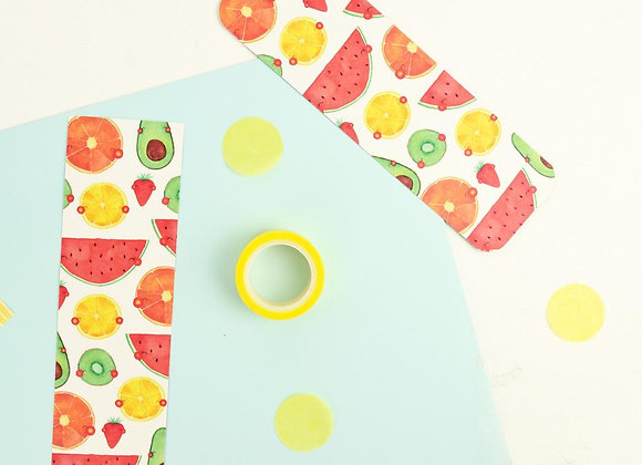 Fruits bookmark
