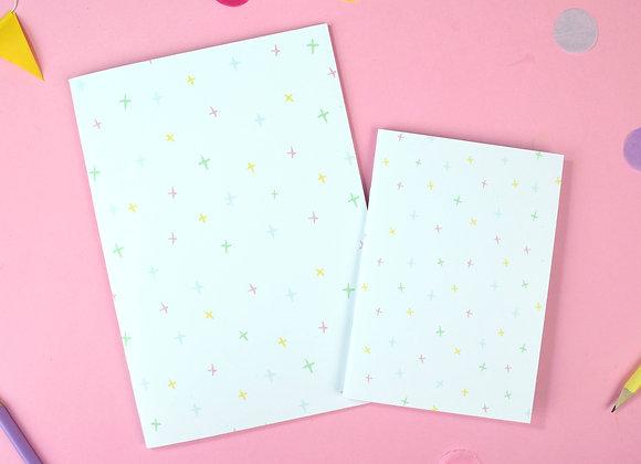 Little stars notebook