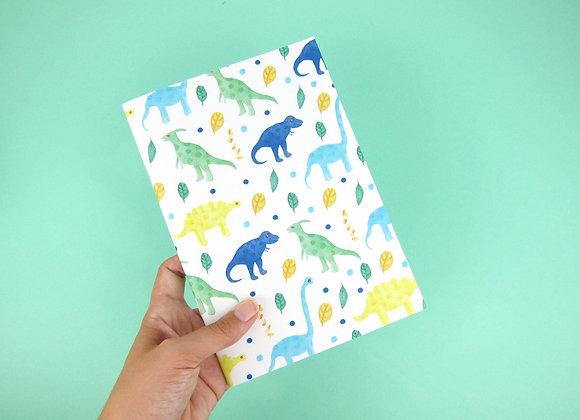 Dinosaur Notebook