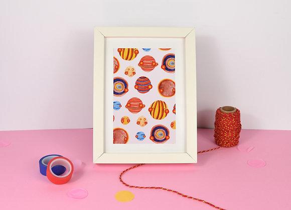Planets Print