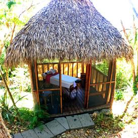 Massage Cabin Costa Dulce Spa Nicaragua.