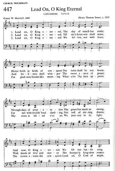 101820 Lead On O King Eternal, hymn imag