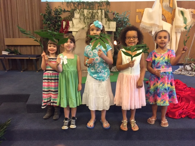 Palm Sunday singers 1