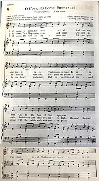 120620 O come O come emmanuel - hymn ima
