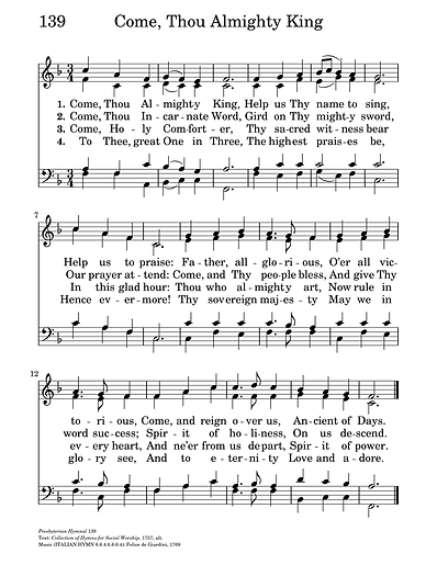 060720 Come, Thou Almighty King hymn.png