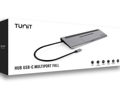 Hub USB-C Tunit Multiport Full
