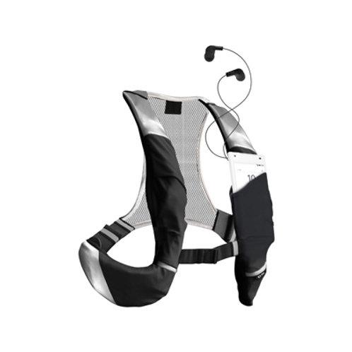 sbs Zaino sportivo a imbracatura regolabile con tasca porta smartphone taglia XL