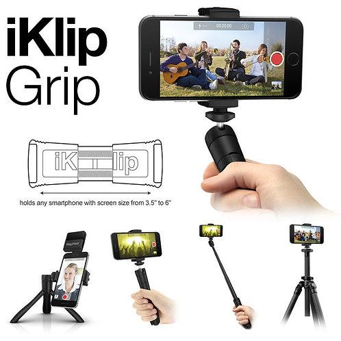 IK Multimedia iKlip Grip - selfie stick e treppiede per iPhone