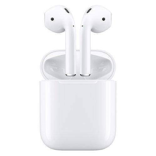Apple Auricolari AirPods 2nd gen. Ricarica Wireless
