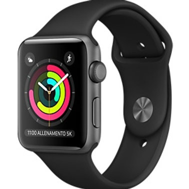 Apple Watch NIKE S3 38m Argento /Grigio Siderale
