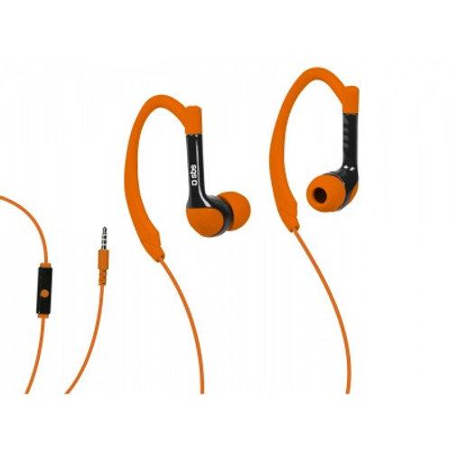 SBS Auricolari filo stereo in-ear Runway Sport, microfono e tasto risposta