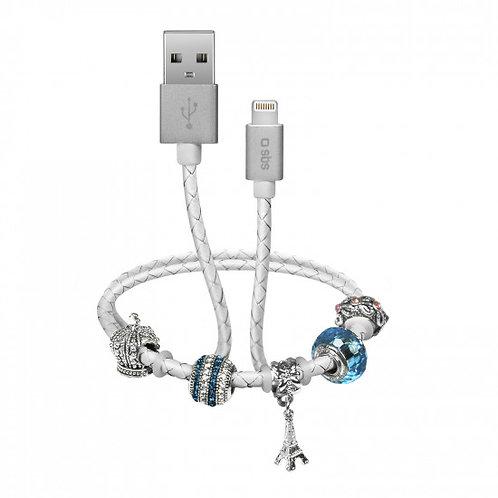Cavo dati e ricarica USB - Lightning con charme