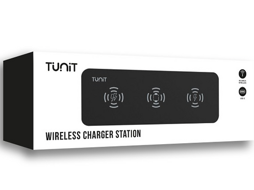 Tunit Wireless Charger station