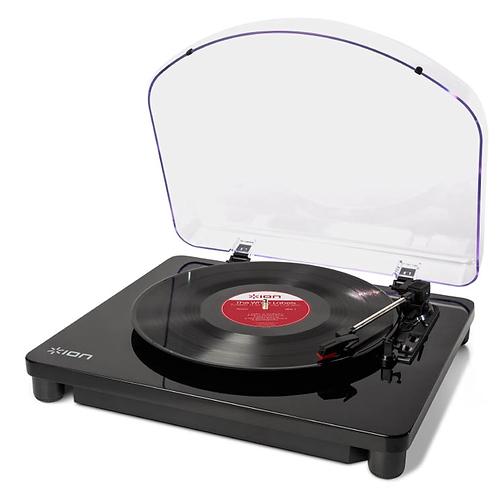 ION Classic LP - Giradischi con funzione conversione USB, finitura nero lucido