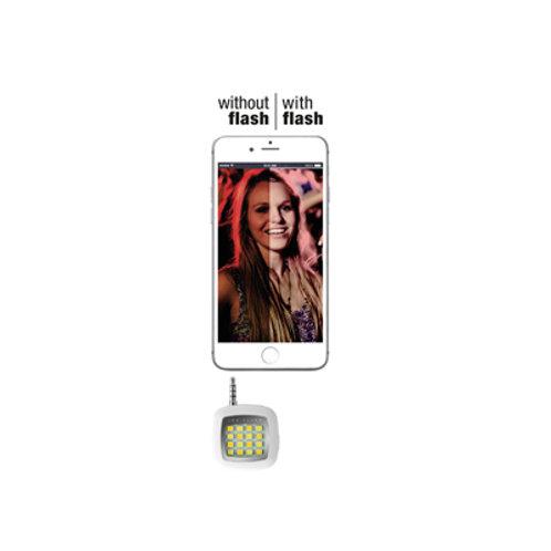 Flash led universale per smartphone e tablet