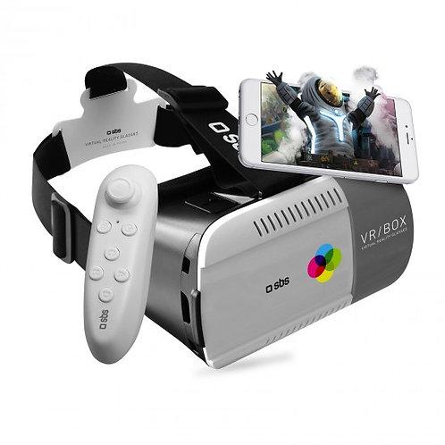 SBS Visore realtà virtuale e joystick per smartphone