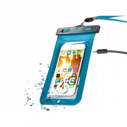 """SBS Custodia impermeabile con ingresso jack 3,5 mm per smartphone fino a 5,5"""""""