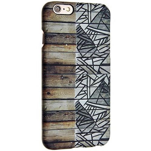 Fllick & Flock Cover iPhone 6/6S Graffiti Wood