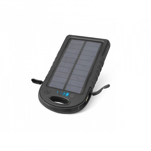 Accumulatore energia portatile solare waterproof 5.000 mAh per tablet e smartpho