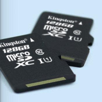 Kingston Scheda microSD UHS-I classe 10 64GB