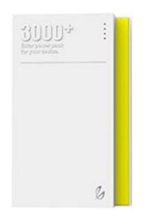 RADIOMARELLI Power Bank 3000mAh