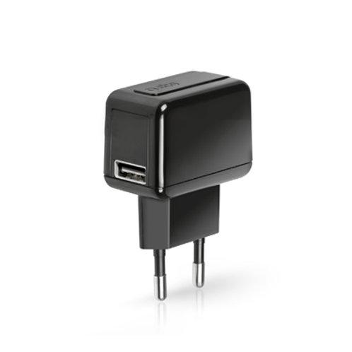SBS Caricabatteria da viaggio con porta USB 1.000 mAh