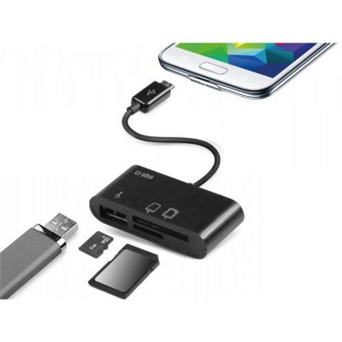 Cavo otg e card reader per Tablet e Smartphone