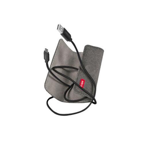 Cavo di ricarica Micro USB con busta da viaggio